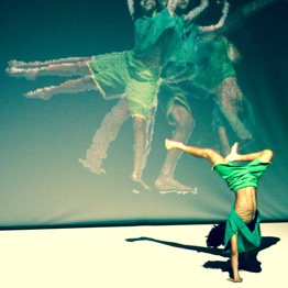 Kinect danse spectacle